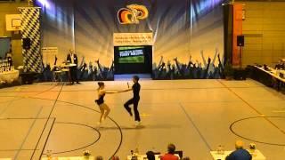 Vanessa Gottschall & Christian Lehr - Nordbayerische Meisterschaft 2015