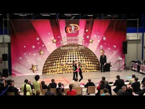 Madita Kudla & Leon Weber - Süddeutsche Meisterschaft 2012