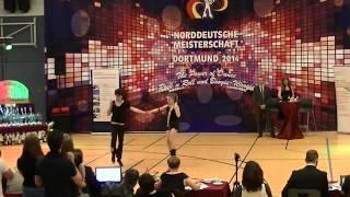 Malin Habitzki & Felix Zoll - Norddeutsche Meisterschaft 2014