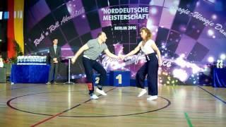 Sabine Rissmann & Marco Rissmann - Norddeutsche Meisterschaft 2016