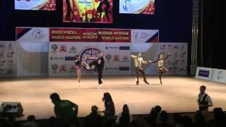 Erste Runde Akrobatik Teil 1  - World Masters Moskau 2013
