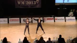 Christina Bischoff-Moos & Lukas Moos - Weltmeisterschaft 2013