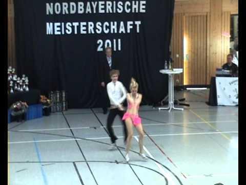 Annalena Neuner & Tobias Bahe - Nordbayerische Meisterschaft 2011