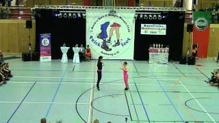 Julia Nicklas & Mathias Krieger - Landesmeisterschaft Bayern 2015