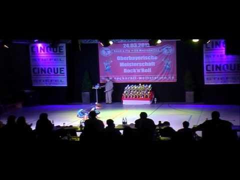 Helen Lage & Eric Lage - Oberbayerische Meisterschaft 2012