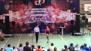 Elisabeth Kleinstück & René Kleinstück - Süddeutsche Meisterschaft 2014