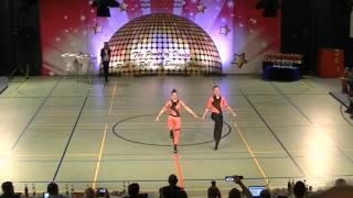 Antonia Schmid & Julian Minks - Schwäbische Meisterschaft 2015