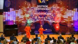 Ayline Spielmann & Philipp Sauter - Deutsche Meisterschaft 2014
