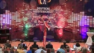 Jasmin Hapfelmeier & Maximilian Draszczyk - Deutsche Meisterschaft 2014