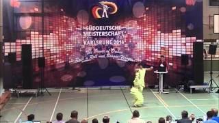 Tabea Gagelmann & Jonas Gagelmann - Süddeutsche Meisterschaft 2014