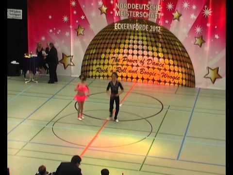 Katja Geiger & Sebastian Geiger - Norddeutsche Meisterschaft 2012