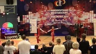 Johanna Wolf & Niklas Bahr - Norddeutsche Meisterschaft 2014