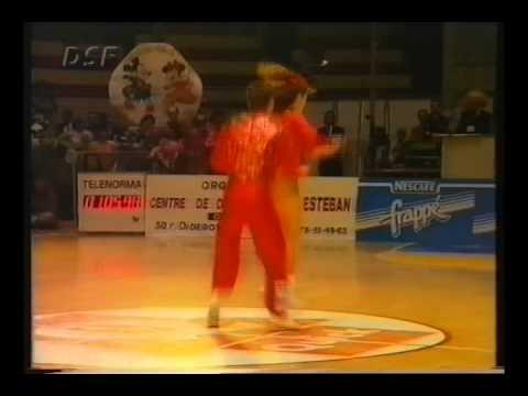 Michaela Vecerova & Roman Kolb - World Masters Lyon 1994