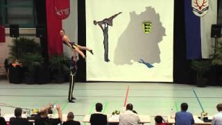 Klara Baitinger & Nico Ellinger - LM Baden-Württemberg & Hessen 2015