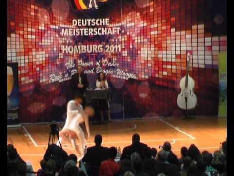 Ayline Spielmann & Philipp Sauter - Deutsche Meisterschaft 2011