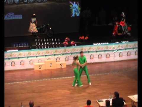 Christina Bischoff & Lukas Moos - Süddeutsche Meisterschaft 2011