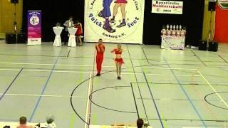 Laura Zellhuber & Patrick Jobst - Landesmeisterschaft Bayern 2015