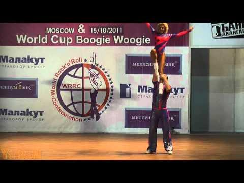 Berger - Weiß (GER) & Youdin - Sbitneva (RUS) - World Masters Moskau 2011