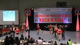 Rock´n´Roses - Bayerische Meisterschaft 2014