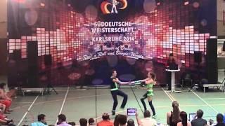 Lara Ritter & Vincent Ludwig - Süddeutsche Meisterschaft 2014