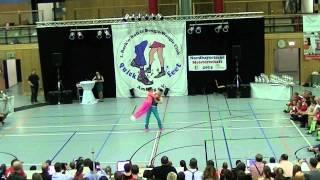 Anna-Lena Rekofsky & Kevin Geyer - Nordbayerische Meisterschaft 2014