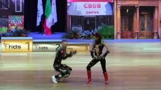 Darina Kozlova & Alexey Kondrashin - Europameisterschaft 2015