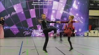 Junioren Diana Runge & Nikita Wambold Saar Kings Cup 2018