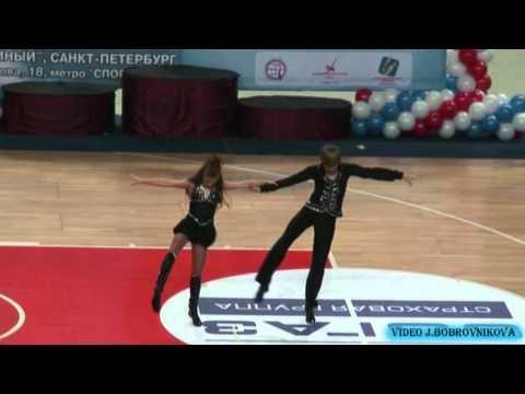 Arseniy Komarov & Anastasia Pronina - Europameisterschaft 2011