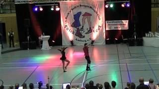 Carolin Steinberger & Tobias Planer - Nordbayerische Meisterschaft 2014