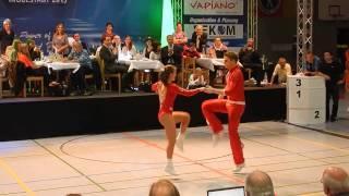 Chiara Pütz & Christopher Pütz - Deutsche Meisterschaft 2015