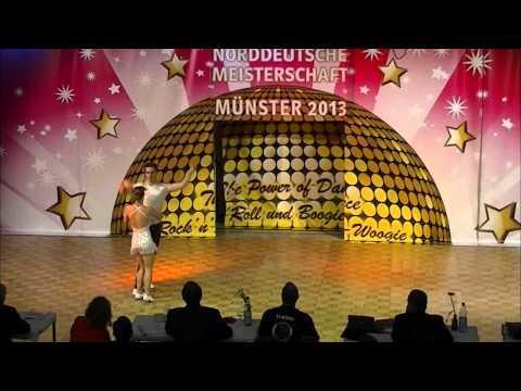 Nadine Stünkel & Stefan Parzentny - Norddeutsche Meisterschaft 2013