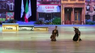 Ioulia Ioudina & Fabien Ropraz - Europameisterschaft 2015