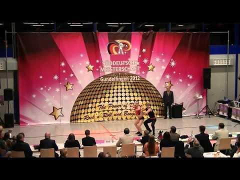 Chantal Roos & Pascal Roos - Süddeutsche Meisterschaft 2012