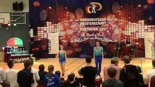 Carolin Körber & Richard Kantelberg - Norddeutsche Meisterschaft 2014