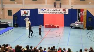 Ayline Spielmann & Philipp Sauter - Landesmeisterschaft Rheinland- Pfalz 2014