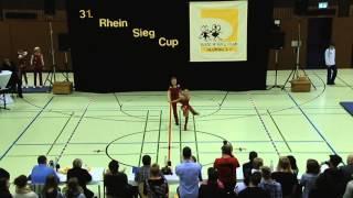 Joline Becker & Jan Günther - 31. Rhein-Sieg-Cup 2013