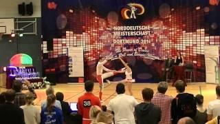 Miriam Schmidt & Fabian Kuhn - Norddeutsche Meisterschaft 2014