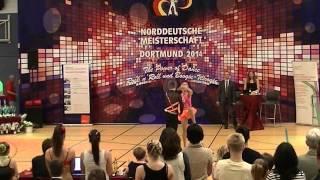 Nadine Mattis & Marco Schmidberger - Norddeutsche Meisterschaft 2014