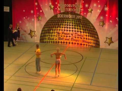 Carina Schramm & Benjamin Schramm - Norddeutsche Meisterschaft 2012