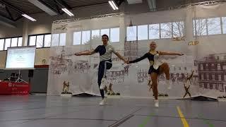 Jessica TACKMANN & Janis TSCHÖPEL - Nordcup Siegburg 2018