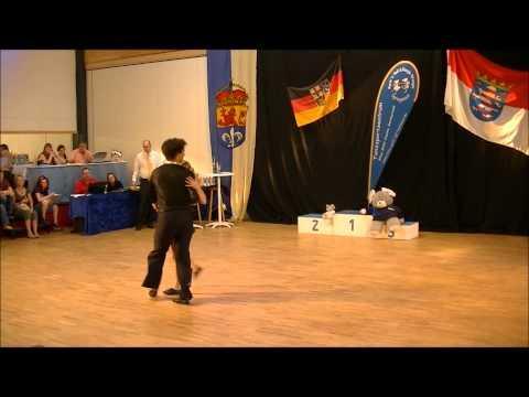 Melanie Franke & Tobias Bludau - Landesmeisterschaft Hessen 2012