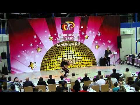 Julia Geishauser & Patrick Pfaller - Süddeutsche Meisterschaft 2012
