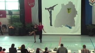 Teresa Hank Gomez & Raphael Griebler - Ländle Cup 2015