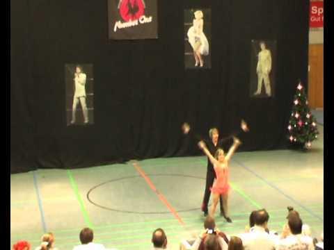 Nadine Stünkel & Stefan Parzentny - Sinter Claas Cup 2011