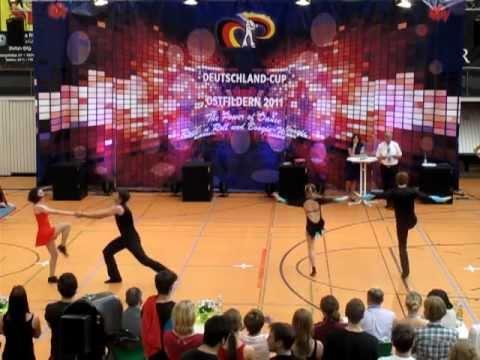 Isabell Breitwieser & Kevin Hoffmann / Helen Koch & Julian Scheuermann - Deutschland Cup 2011
