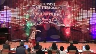 Johanna Wolf & Niklas Bahr - Deutsche Meisterschaft 2014