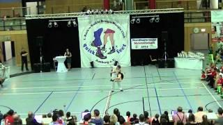 Anja Gentner & Christian Gartmeier - Nordbayerische Meisterschaft 2014