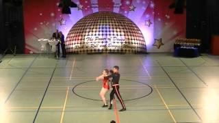 Katrin Pfundstein & Elias Vogt - Schwäbische Meisterschaft 2015