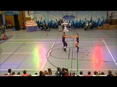 Anja Leinfelder & Philipp Lage - Nordbayerische Meisterschaft 2012
