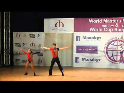 Denis Tertyshniyy &  Ksenia Osnovina - World Masters Moskau 2011